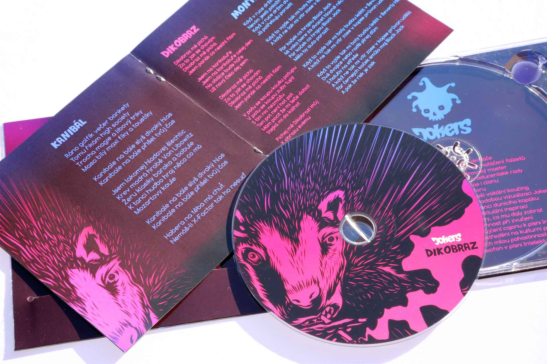 CD Dikobraz - 290 kč