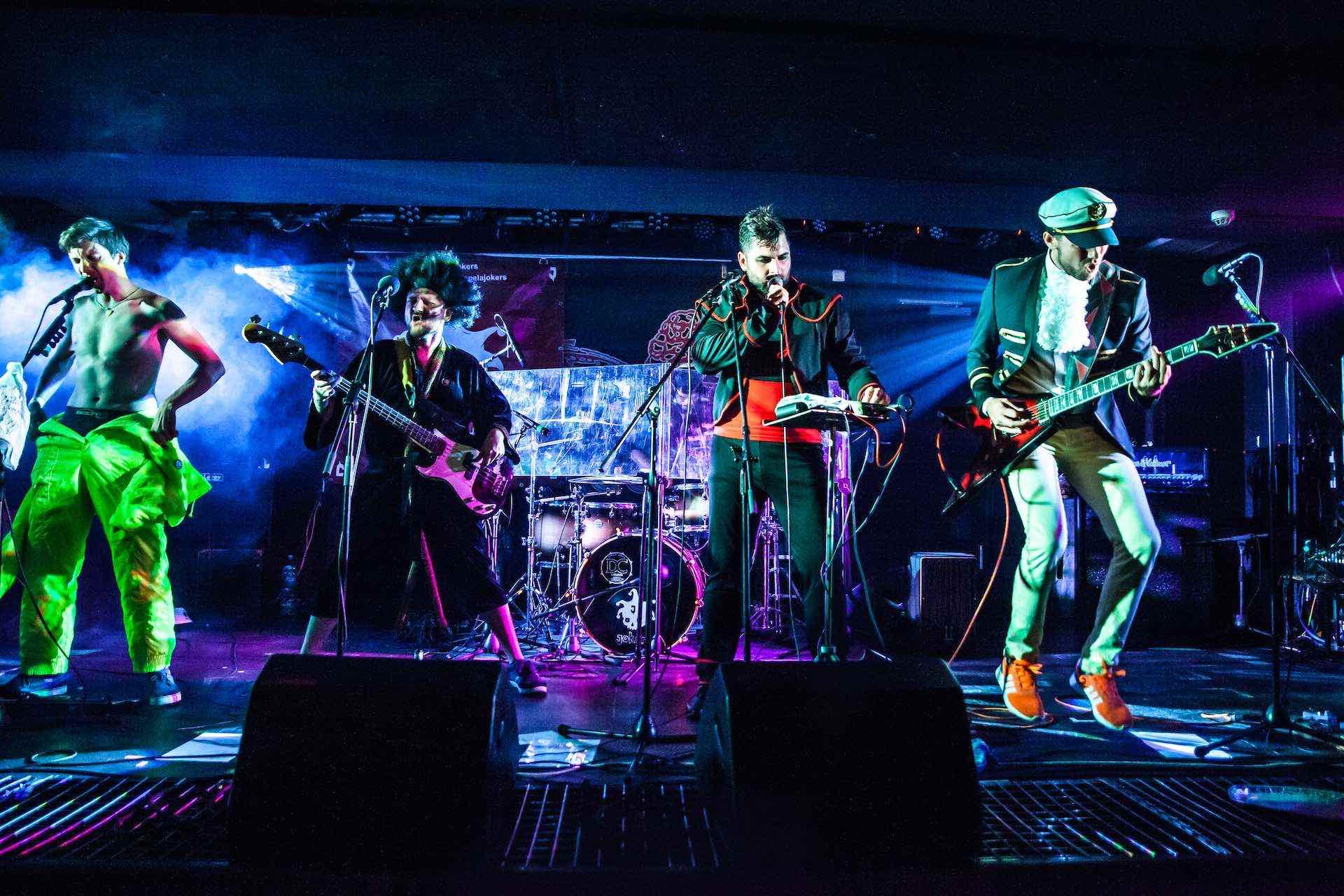 Jokers úvodní foto live rock cafe